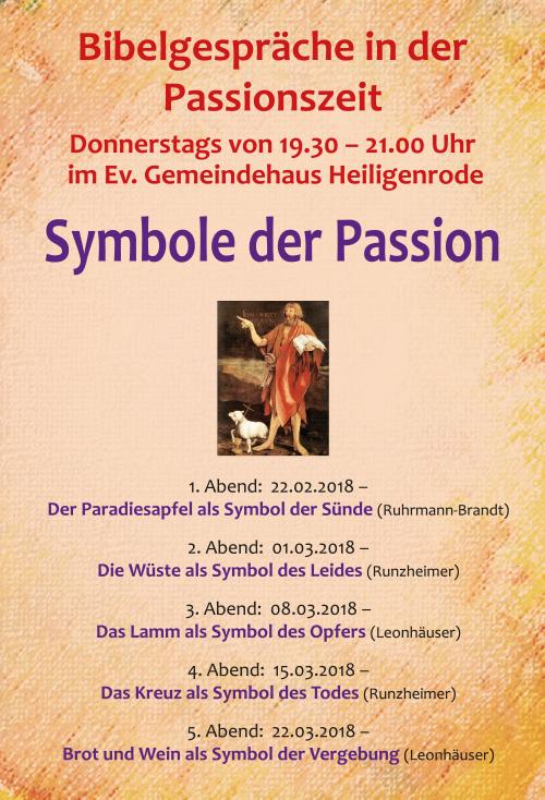 Symbole der Passion